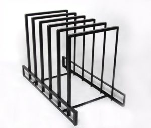 horizontal rack display