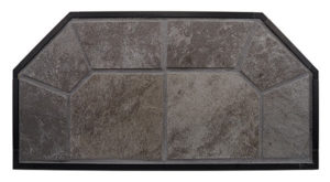 Glacier Gray Hearth Pad Detail