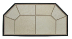 Hearth Pad Designer Series - Lake Sand Detail