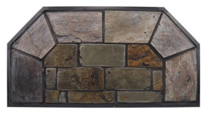 Montana Flagstone Hearth Pad Detail