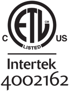 ETL Listed Intertek 4002162 Symbol